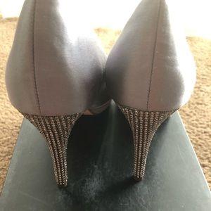 Peep toes heels